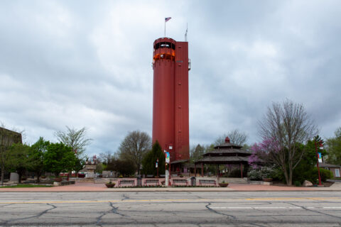 Peoria Heights, Ill., water tower